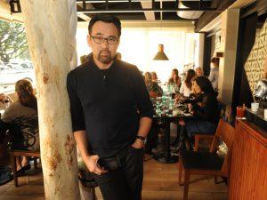 Jun Sakamoto pilota jantar em Santa Catarina por uma boa causa