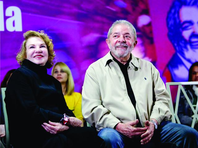 Marisa e Lula