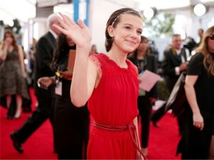"Millie Bobby Brown, de ""Stranger Things"", assina com agência de Gisele"