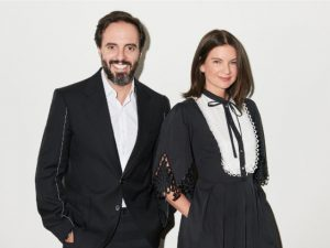 José Neves e Natalie Massenet