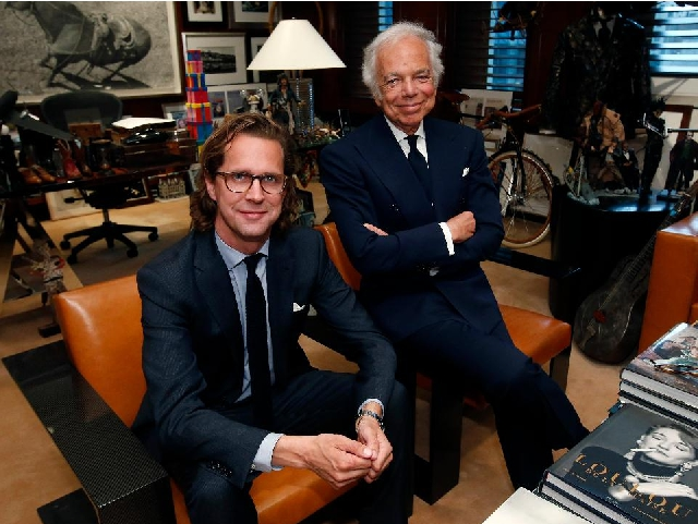 Stefan Larsson e Ralph Lauren || Créditos: Getty Images