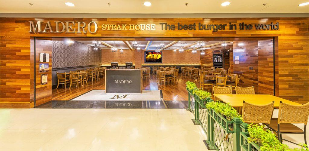 Fachada do Madero Steak House no Rio Design Leblon: QG do camarote A Festa || Crédito: Divulgação