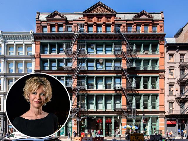 O prédio onde fica o loft de Meg, no Soho || Créditos: Getty Images/Divulgação