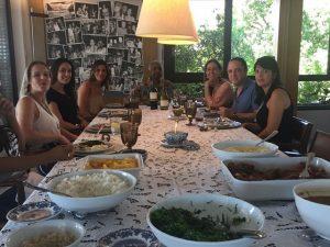 Flora e Gilberto Gil receberam Roberto Kalil em almoço no Corredor da Vitória