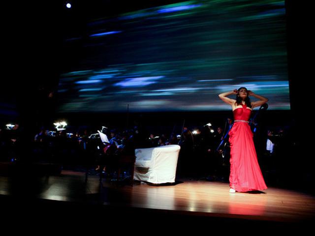 Angélica de la Riva em apresentação no Lincoln Center, em Nova York || Créditos: Divulgação