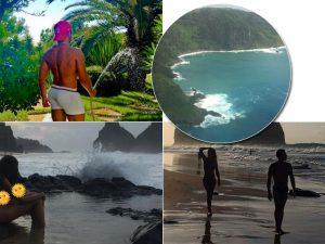 Mert Alas desembarca no Brasil e já está curtindo o verão em Fernando de Noronha…