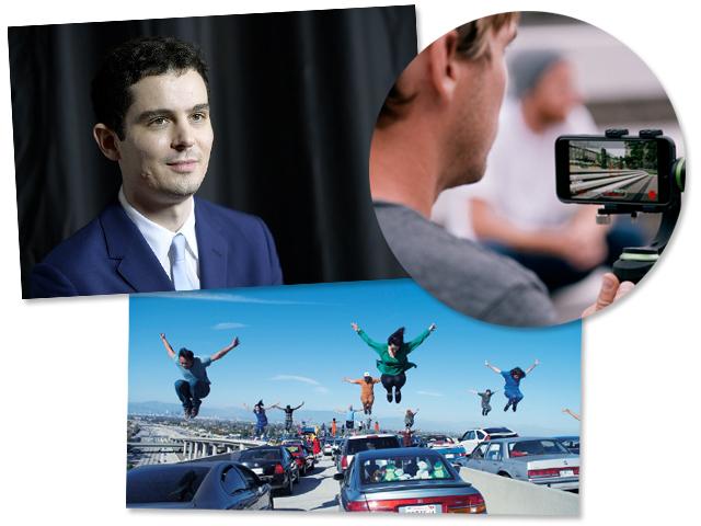 "Damien Chazelle e a abertura de ""La La Land..."""