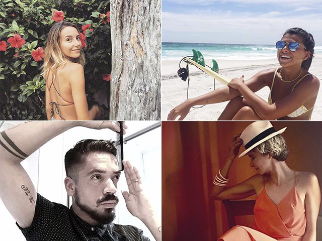 Os embaixadores da Luxottica neste Carnaval || Créditos: Reprodução Instagram