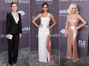 Gala da amfAR em Nova York teve de androginia a decotes e fendas. Aos looks!