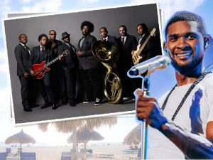 Usher e The Roots são as principais atrações do 17º Festival Anual Soul Beach Music