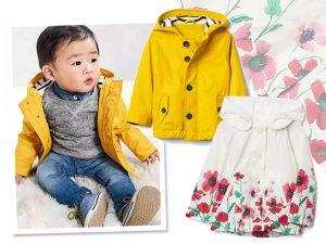 Desejo do Dia: glamuzinhos protegidos da chuva com as capas GAP Kids