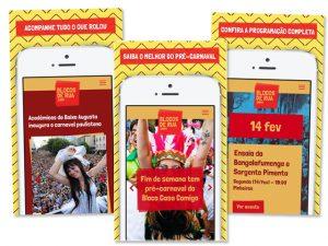 App gratuito oferece programação do Carnaval de blocos de rua 2017 de SP