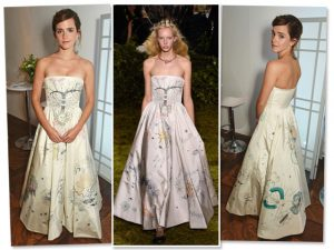 Emma Watson provoca climão em premiação de moda em Londres