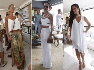 Branco + patuás = a receita fashion das bem vestidas de Salvador