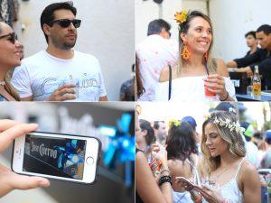 Margaritas e tequilas Jose Cuervo deram mais fervo à nossa festa de pré-Carnaval