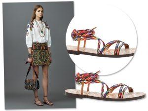 A aposta da semana é a sandália Valentino para a primavera