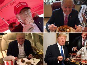 """Nutricionistas britânicos analisam a dieta de Trump: """"atentado à saúde"""""""