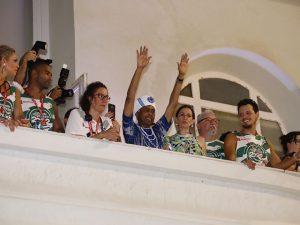 O ano é de homenagens a Gilberto Gil. Hoje foi a vez do Cortejo Afro! Vem!