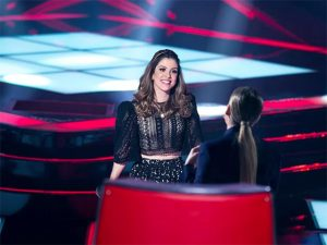 """Caloura no """"The Voice"""", Millane Hora vira popstar dando voz ao Timbalada"""