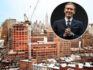 Prestes a se aposentar, dono da Starbucks compra cobertura de US$ 40 mi em NY