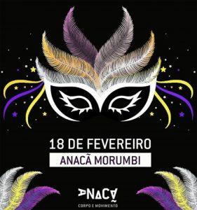 Carnaval do Anacã terá aulão de Samba Fitness com bateria ao vivo