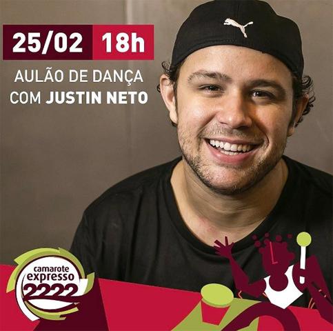 Justin Neto estará em Salvador para um aulão || Créditos: Reprodução Instagram