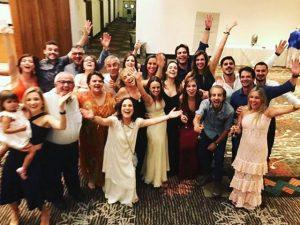 Regina Duarte comemorou 70 anos reunindo toda a família em Campinas