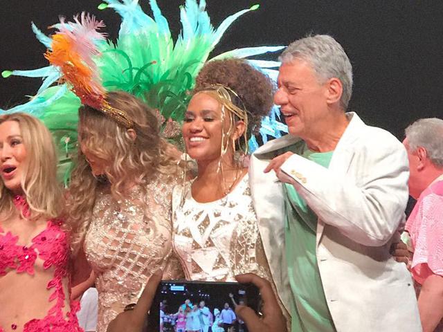 Elba Ramalho, Rosemary e Chico Buarque || Créditos: Glamurama