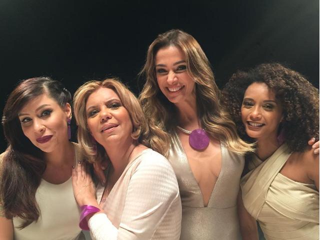 Pitty, Astrid, Mônica Martelli e Taís Araújo: as apresentadoras da temporada 2017 do Saia Justa || Créditos: Reprodução Instagram