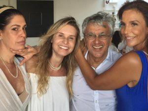 Caetano e Ivete Sangalo comemoram o Dia de Iemanjá em Salvador