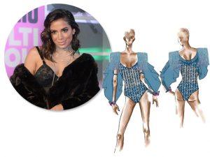 Anitta veste Amir Slama e encarna Eva no Carnaval de Salvador. Tudo aqui!