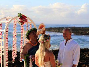 Confira os cliques do casamento de Kadu Moliterno no Havaí