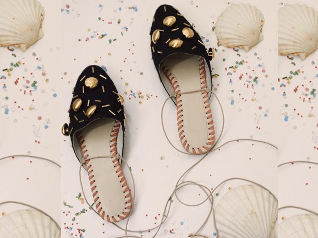 c5439923ea Sapatilha de conchinhas e da Marcela B para pular carnaval no maior estilo