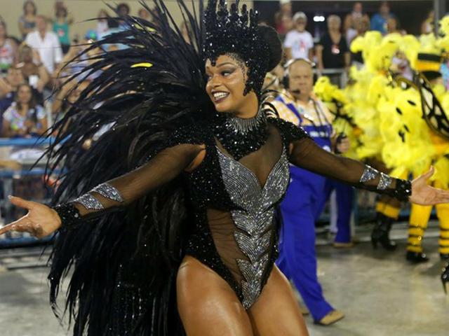 Juliana Alves será uma das estrelas da feijoada de carnaval do Windsor Barra    Credito: Divulgação/AgNews