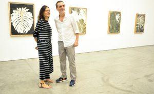 A mostra de Luiz Zerbini no Galpão da Galeria Fortes, D´Aloia & Gabriel