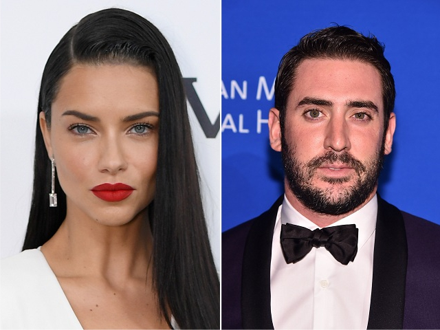 Adriana Lima e Matt Harvey || Créditos: Getty Images
