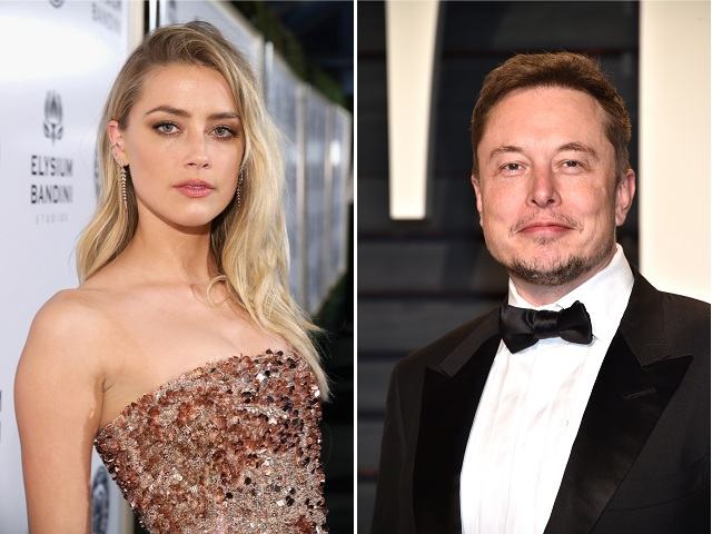 Amber Heard e Elon Musk || Créditos: Getty Images
