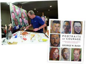 Lançado no fim de fevereiro, livro de retratos de Bush é best-seller nos EUA