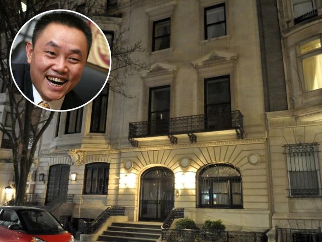 Huang Guangyu e a townhouse no Upper East Side || Créditos: Getty Images/Reprodução