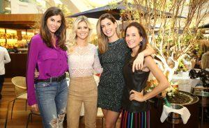 Lala Rudge recebe Joana Nolasco, Betina de Luca e Lu D'Angelo em torno de suas lingeries