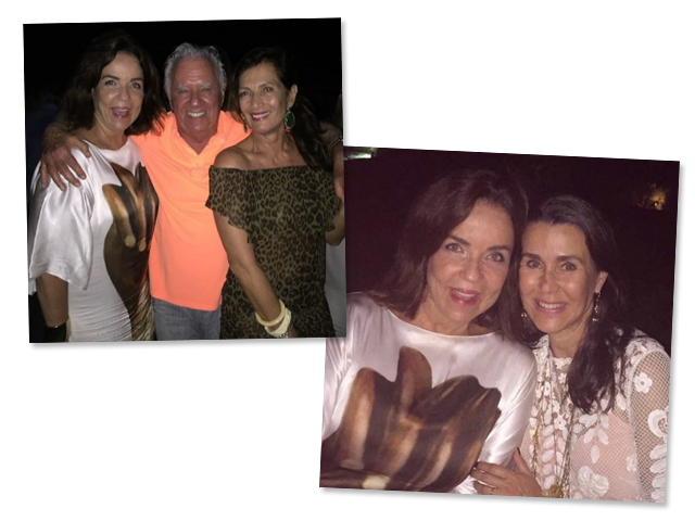 Fatima Scarpa com Rose e Roberto Bratke e Patricia Slavic Malburg || Créditos: Reprodução Instagram