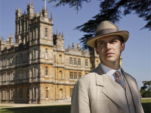 """Dan em """"Downton Abbey""""    Créditos: Divulgação/ITV"""