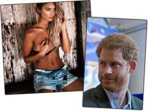 Modelo que dançou com príncipe William estava era de olho em Harry