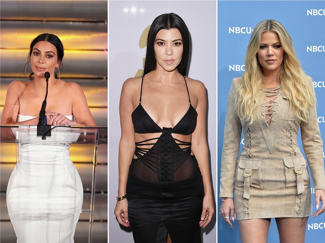 Kim, Kourtney e Khloé Kardashian || Créditos: Getty Images