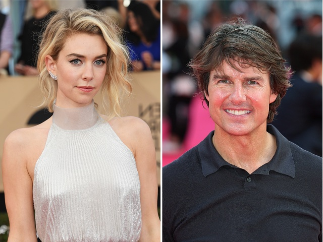 Vanessa Kirby e Tom Cruise || Créditos: Getty Images