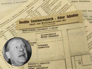 Parte da lista de Schindler original vai a leilão por mais de R$ 7 milhões