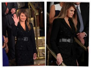 Melania escolhe Michael Kors – de novo! – para assistir a discurso de Trump
