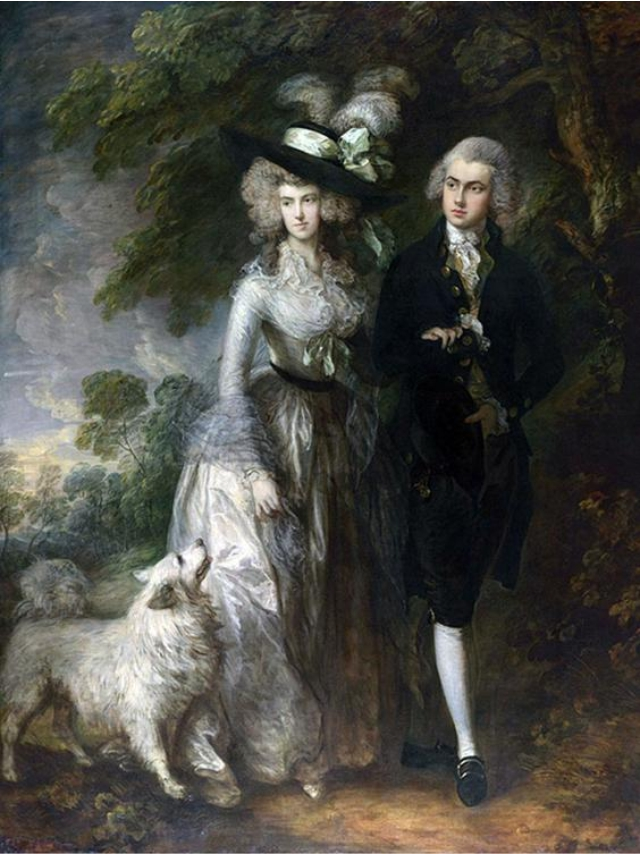 The Morning Walk, de Thomas Gainsborough || Créditos: Getty Images
