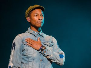 Vida de Pharrell Williams será contada em musical de Hollywood