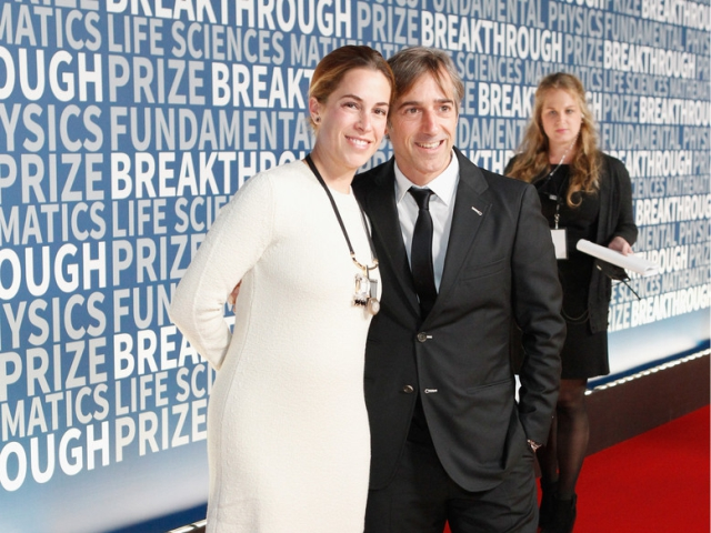 Alison Gelb e Mark Pincus || Créditos: Getty Images